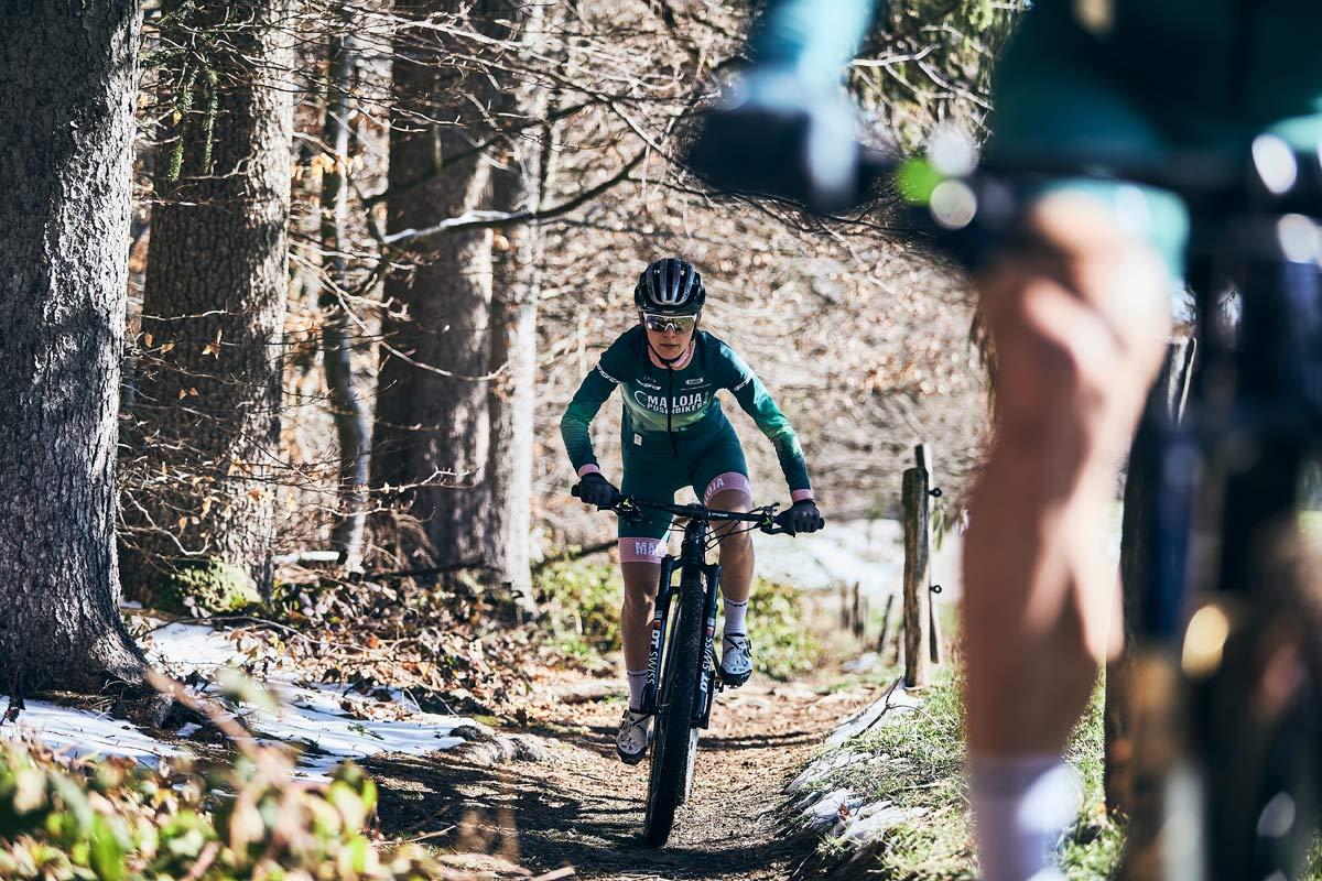 Die Maloja Pushbikers sind jetzt auch mit Profiteam im Mountainbike Weltcup unterwegs