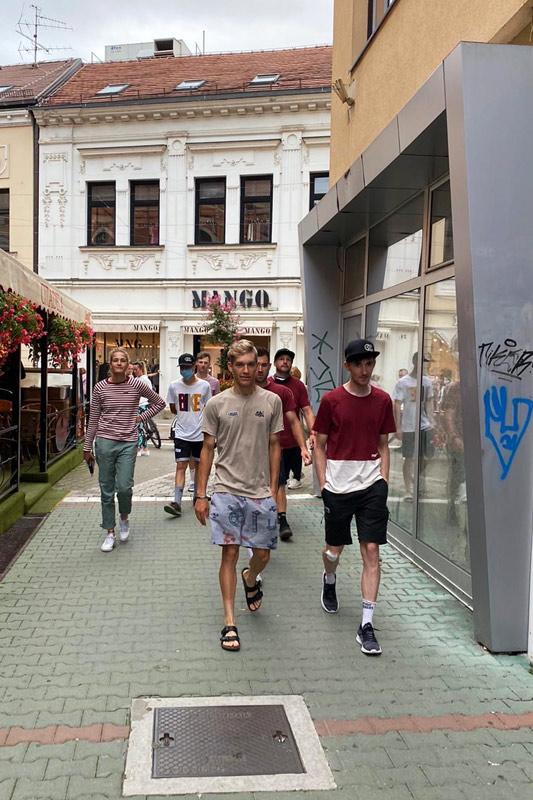 Belgrad Banjaluka und Maloja Pushbikers