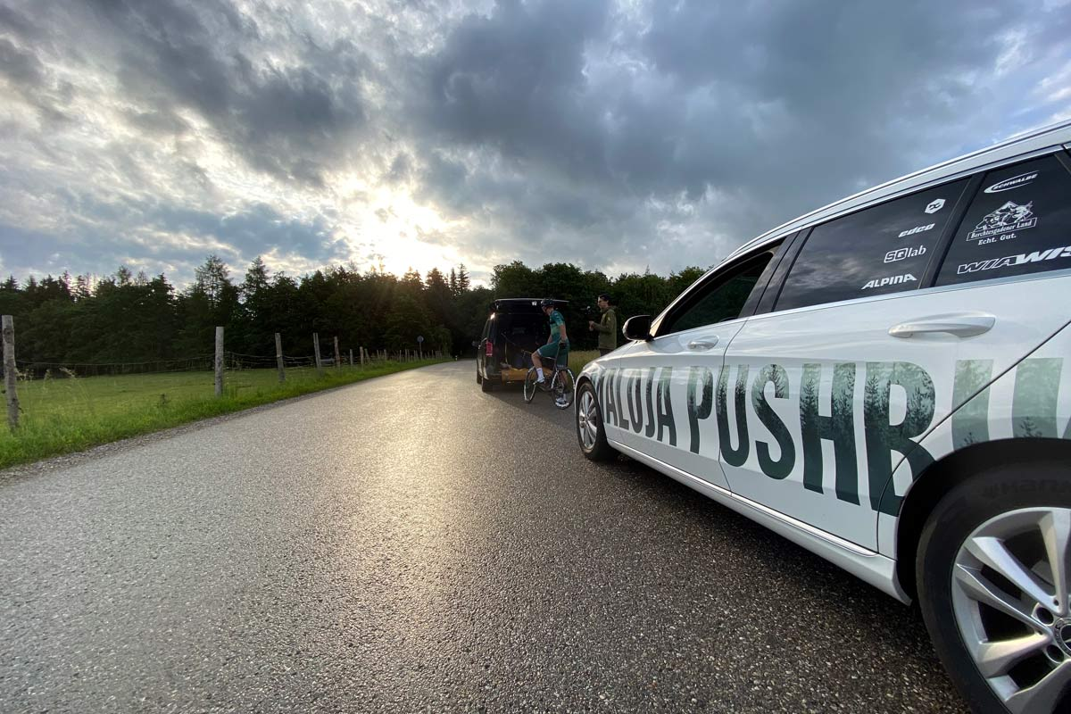 100 kmh mit dem Rennrad
