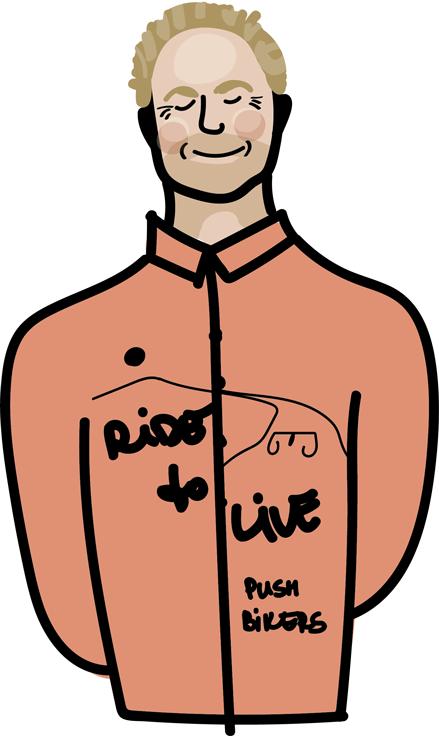 Ludwig Luitz Pushbikers Staff